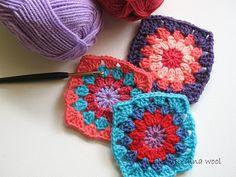 Piastrellina crochet rotonda/quadrata :))))