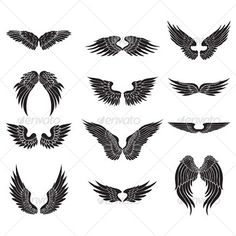 3D and 4D angel wing tattoo designs - Google Search
