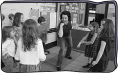 Name Circle A great warm up exercise to work on students' voice and ability to focus Drama Activities, Drama Games, Drama Teaching, Theatre Games, Drama Class, Readers Theater, Workout Warm Up, School Subjects, Brain Breaks