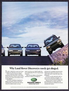 Why Land Rover rarely get dinged