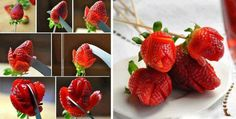 strawberry fruit flowers #fruitart