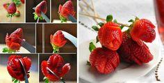 strawberry fruit flowers #fruitart
