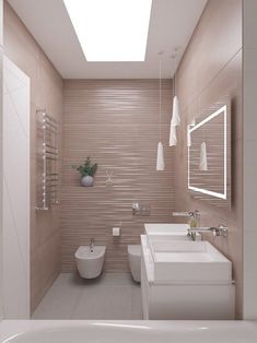 Chasing After The Sunset: Summer Trends For Your Interior Design Modern Luxury Bathroom, Bathroom Design Luxury, Modern Bathroom Design, Small Toilet Room, Small Bathroom, New Bathroom Ideas, Bathroom Inspiration, Kitchen Room Design, Interior Design Living Room