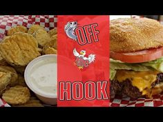 Tasty Thursday: Off The Hook -T-Boy Burger with Fried Pickles - YouTube