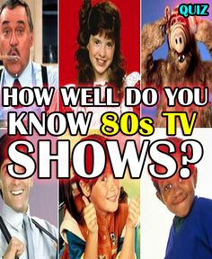 I Got Master of 80's television! !! From cop shows to family sitcoms, you are truly a student of popular 80's television! You probably remember cramping around your old TV and getting immersed in your favorite shows, and talking about them with your friends at work or school. There was never anything like 80's TV before, and there certainly hasn't been since. This was the era of theme songs with lyrics, and we all know you were singing the Cheers theme song every time that show came on…