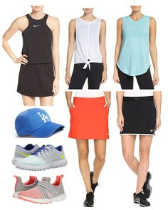Kill it on the golf course this summer. Loving looser tanks and simple skorts that go from the green to brunch or the grocery store after.
