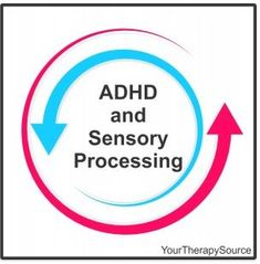 ADHD and Sensory Processing  - pinned by @PediaStaff – Please Visit ht.ly/63sNtfor all our pediatric therapy pins