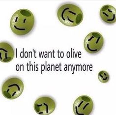 Me neither olives