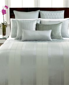 hotel collection bedding classic stripe collection bedding collections bed u0026 bath macyu0027s