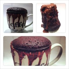 En lækker, og alt for nem chokoladekade på 5 minutter :D