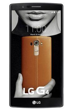 Mobile nu Lg G4 TITANE pas cher prix Smartphone Darty 649.00 € TTC