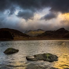 Blea Tarn Storm Front (Langdales Vertorama), Lake District