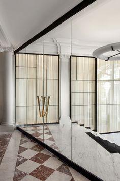 Lifeonsundays Door Window Partition Pinterest Espace - Porte placard coulissante jumelé avec serrurier paris 75004