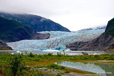 Mendenhall Glacier, Juneau, AK, USA, 美國, 阿拉斯加州, 朱諾, 棉田豪冰河