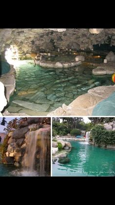 Secret spas, waterfalls, and an amazing swimming pool