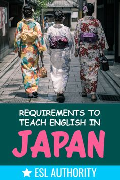 Explore the requirements to teach English in Japan - broken out by what the government looks for as well as what each of school prefers.