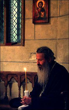 Interior prayer: Metropolitan Teofan of Moldavia and Bukovine - by iulian nistea