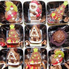 Figurine de ciocolata pentru Craciun