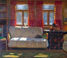 Лысенко Андрей Гаврилович (Россия, 1916-2000) «Скоро весна. Абрамцево» 1973