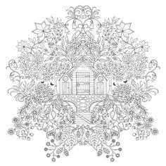 secret garden värityskirja - Google-haku