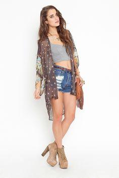 Rhiannon Kimono Jacket, Jeffrey Campbell Litas.