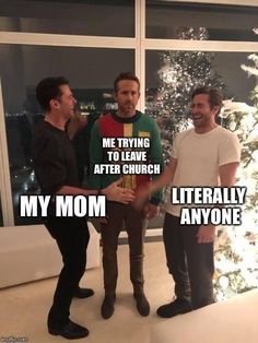 Ryan Reynolds Getting Pranked Is Inspiring Some Hilarious Trending Memes What& not to love about the adorable Ryan Reynolds? The post Ryan Reynolds Getting Pranked Is Inspiring Some Hilarious Trending Memes & humor appeared first on Galia Sto. Funny Church Memes, Church Humor, Catholic Memes, Funny Memes About Life, Really Funny Memes, Funny Stuff, Memes Lol, Lds Memes, Stupid Funny Memes
