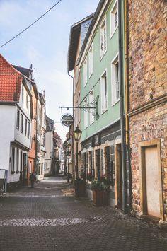 Streets of Bad Kreuznach,   Rhineland-Palatinate | Germany (by...