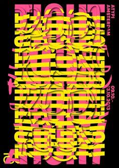 Vincent Vrints -  Association Typographique Internationale Conference, Amsterdam