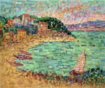 Le Petit Port - Charles Angrand