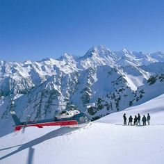 Scenic Helicopter Flights with Snow Landings Mount Cook New Zealand