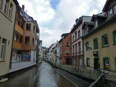 Canales de Friburgo de Brisgovia (Freiburg Bächle), Alemania