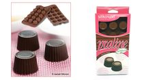 Silikomart Praline Chocolate Mold Praline Chocolate, Chocolate Molds, Dairy Free Chocolate