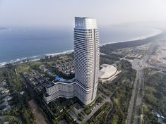 Rosewood Sanya by Goettsch Partners in Hainan Island, China