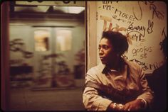 https://flic.kr/p/6K8rtN | Interior of Graffiti-Marked Subway Car. 05/1973 | Original Caption: Interior of Graffiti-Marked Subway Car. 05/1973  U.S. National Archives' Local Identifier:  412-DA-5768  Photographer:  Calonius, Erik  Subjects: New York (New York state, United States) inhabited place Environmental Protection Agency Project DOCUMERICA  Persistent URL:  research.archives.gov/description/548255  Repository:  Still Picture Records Section, Special Media Archives Services Division…