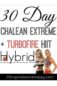 This lead me to create a 30 day ChaLean Extreme TurboFire HIIT hybrid. I actually started this hybrid yesterday and I think I'm really gonna like it. 20 Minute Hiit Workout, Basic Workout, Workout Ideas, High Intensity Cardio, High Intensity Interval Training, Home Exercise Program, Workout Programs, Intense Leg Workout, Hiit Benefits