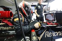 Kimi gets ready to go