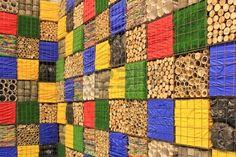 recycle facade material