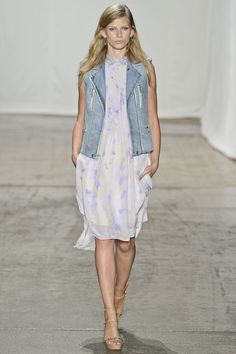 Rebecca Taylor - Spring 2013 Ready-to-Wear - Look 2 of 33