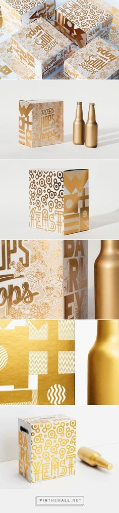 Sum of the Parts beer packaging design by Toolbox Design - http://www.packagingoftheworld.com/2017/08/sum-of-parts.html