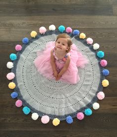 Pom Pom Rug (PREORDER ITEM: STOCK EXPECTED - 24 OCT) – Mooi baby