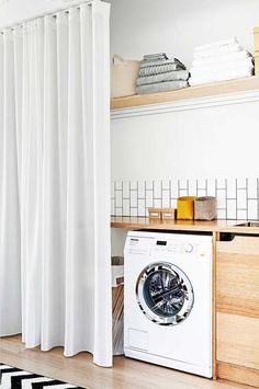 Our guide to perfecting the layout of your laundry. From the February 2016 issue of Inside Out magazine. Project by Lena Bruno & Co (lenabrunoandco.com). Photography by Brooke Holm. Available from newsagents, Zinio, http://www.zinio.com, Google Play, https://play.google.com/store/magazines/details/Inside_Out?id=CAowu8qZAQ, Apple's Newsstand, https://itunes.apple.com/au/app/inside-out/id604734331?mt=8ign-mpt=uo%3D4 and Nook.