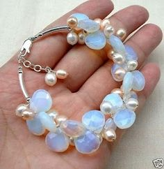 Moonstone and Pearls...