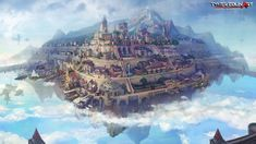 The cities hovered in clouds by Tyler Edlin