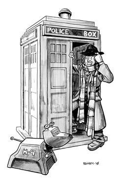 Doctor Who coloring page! | cute/ just plain cool | Pinterest ...