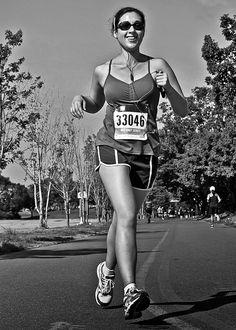 MEC Toronto Race Four 5K 10K The Summer Classic 2014  #canadian #monochrome #portrait