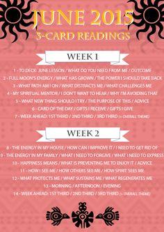 June Tarot Challenge