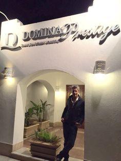 Anche Roberto Farnesi ha scelto il Domina Prestige per le sue vacanze — presso Domina Coral Bay - Sharm el Sheikh.