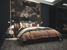 Home Interior, Interior Design, Natural Interior, Headboard Designs, Bedroom Designs, Round Beds, House Rooms, Bed Rooms, Master Bedroom Makeover