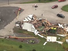 08/16/2016 - The National Weather Service says several tornadoes touched down in central Indiana on Monday, downing powerlines and trees and damaging homes west of Indianapolis