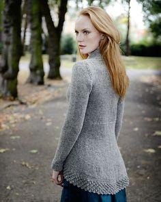 Isis Tailcoat pattern by Kari-Helene Rane | Ravelry #cardigan #knitting #pattern